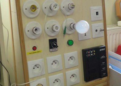 Tableau de test - atelier électro