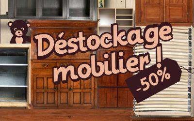 Déstockage mobilier