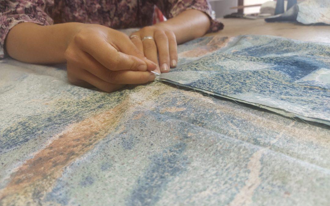Les ateliers couture du Pied allez TRIEZ c'est parti !