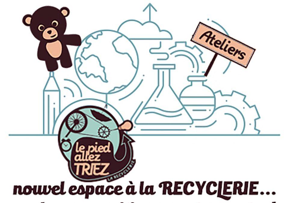 la recyclerie prête pour accueillir vos initiatives!