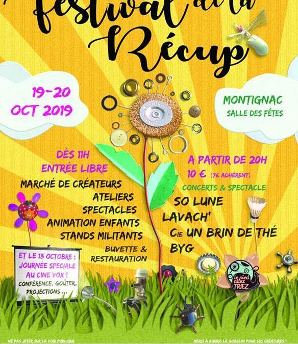 FESTIVAL DE LA RECUP'- 19 & 20 octobre 2019